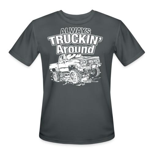 Alway's Truckin Around - Men's Moisture Wicking Performance T-Shirt