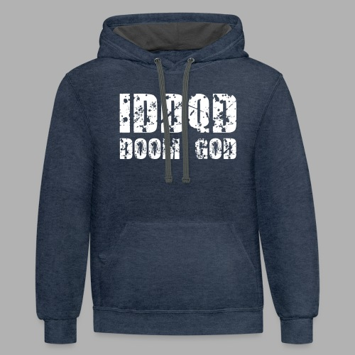 IDDQD Doom God - Contrast Hoodie