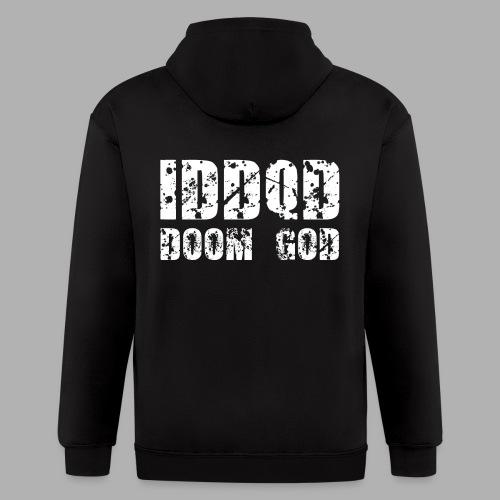IDDQD Doom God - Men's Zip Hoodie