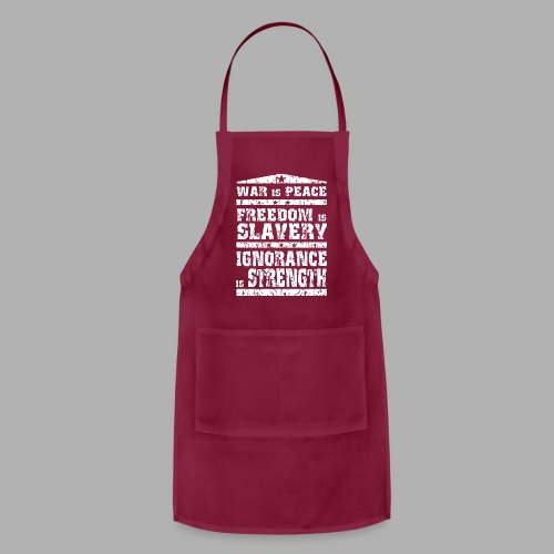 1984 War is Peace... - Adjustable Apron