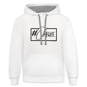 #OKBYE - Contrast Hoodie