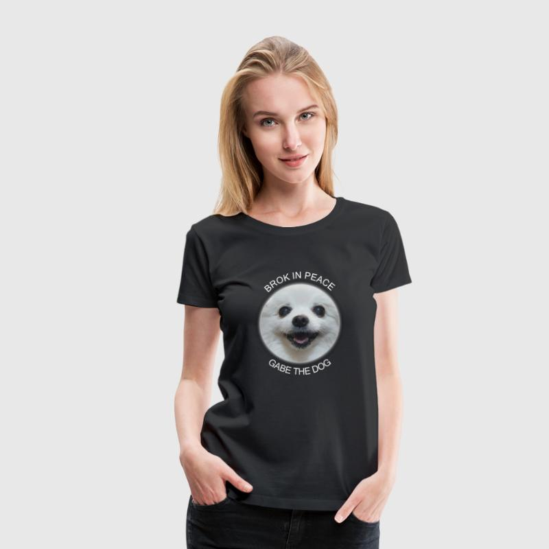 Gabe The Dog - Women's Premium T-Shirt