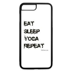 Eat Sleep Yoga Repeat Coffee Mug - iPhone 7 Plus/8 Plus Rubber Case