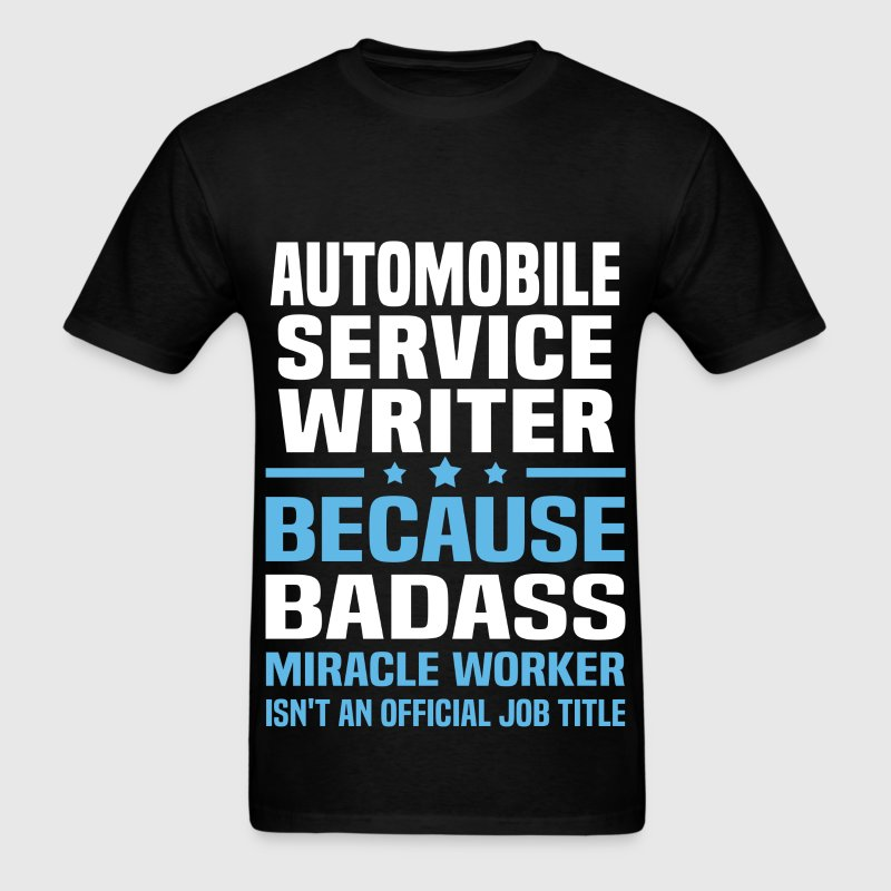 Automobile Service Writer Tshirt - Men's T-Shirt
