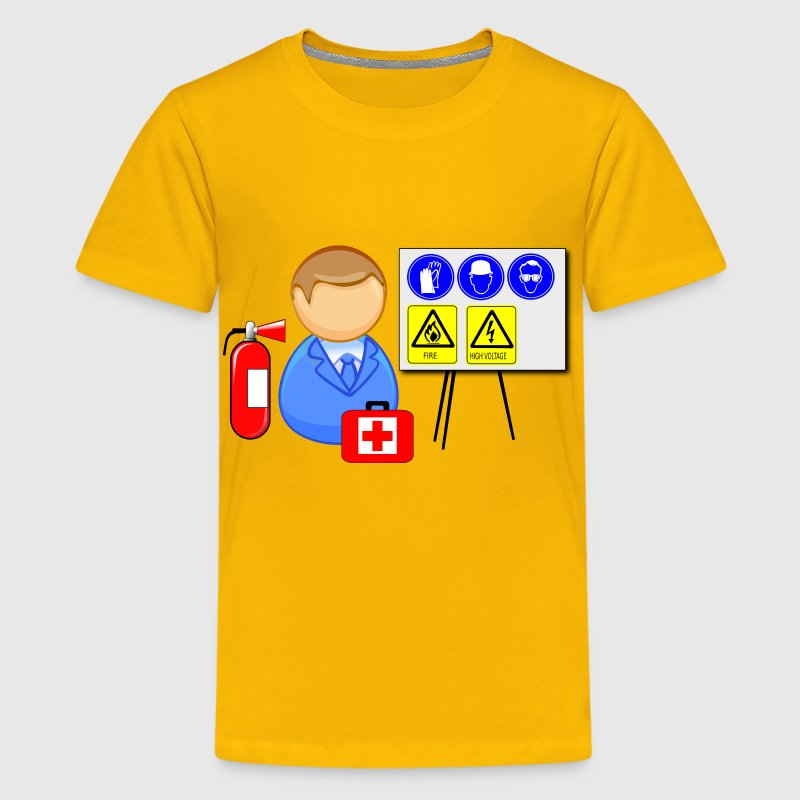 Occupational safety and health instructor (OSH) - Kids' Premium T-Shirt