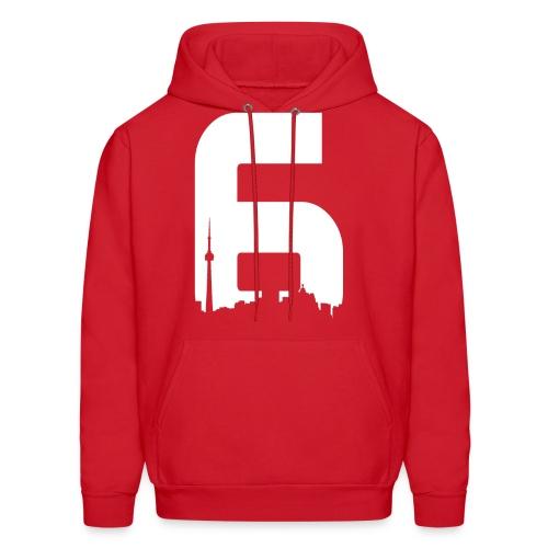 Black 6ix City T-Shirt - Men's Hoodie
