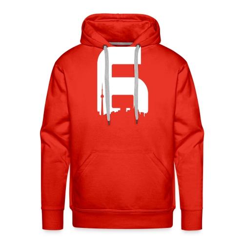 Black 6ix City T-Shirt - Men's Premium Hoodie
