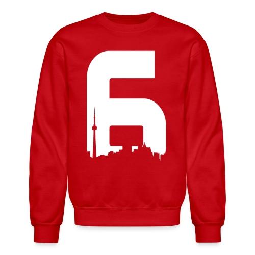 Black 6ix City T-Shirt - Crewneck Sweatshirt