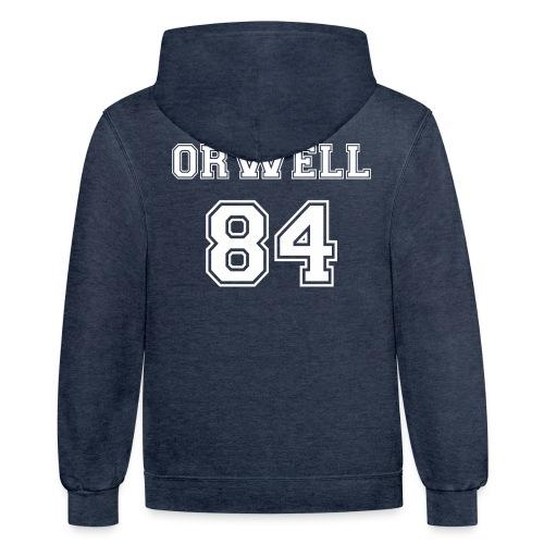 George Orwell 1984 - Contrast Hoodie