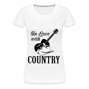 In love with country - Women's Premium T-Shirt