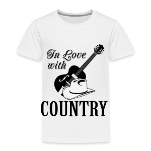 In love with country - Toddler Premium T-Shirt