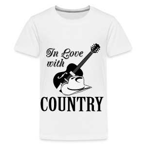In love with country - Kids' Premium T-Shirt