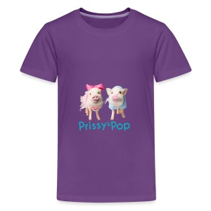 Prissy and Pop Baby  - Kids' Premium T-Shirt