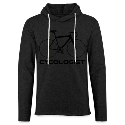 Cycologist = cyclist + psychologist t-shirt - Unisex Lightweight Terry Hoodie