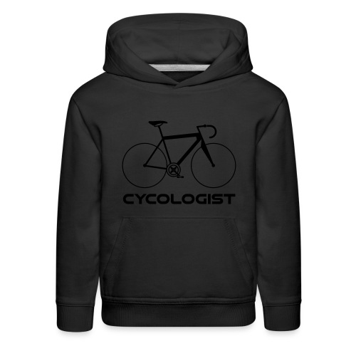 Cycologist = cyclist + psychologist t-shirt - Kids' Premium Hoodie