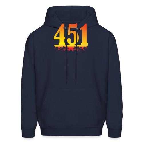 Fahrenheit 451 - Men's Hoodie
