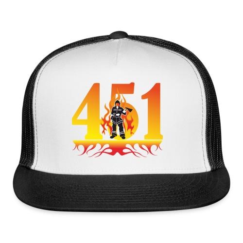 Fahrenheit 451 - Trucker Cap