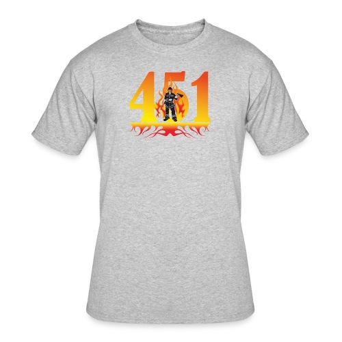 Fahrenheit 451 - Men's 50/50 T-Shirt