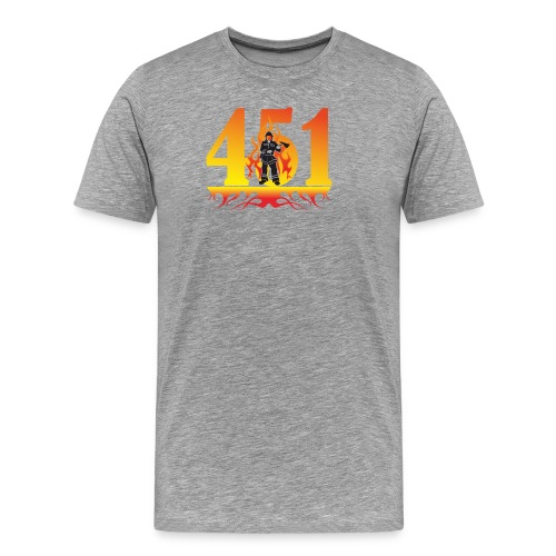 Fahrenheit 451 - Men's Premium T-Shirt