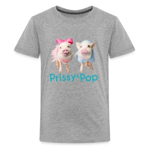 Prissy and Pop Kid's Hoodie - Kids' Premium T-Shirt