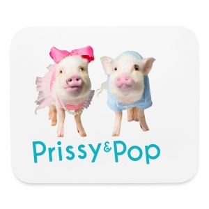 Prissy and Pop bag - Mouse pad Horizontal
