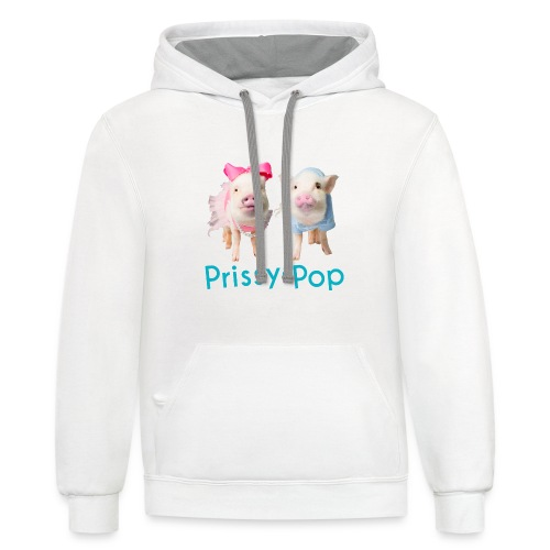 Prissy and Pop Apron - Contrast Hoodie