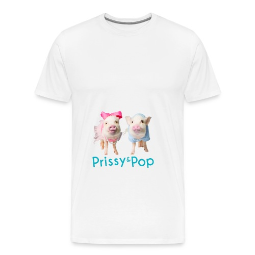 Prissy and Pop Apron - Men's Premium T-Shirt