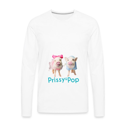 Prissy and Pop Apron - Men's Premium Long Sleeve T-Shirt