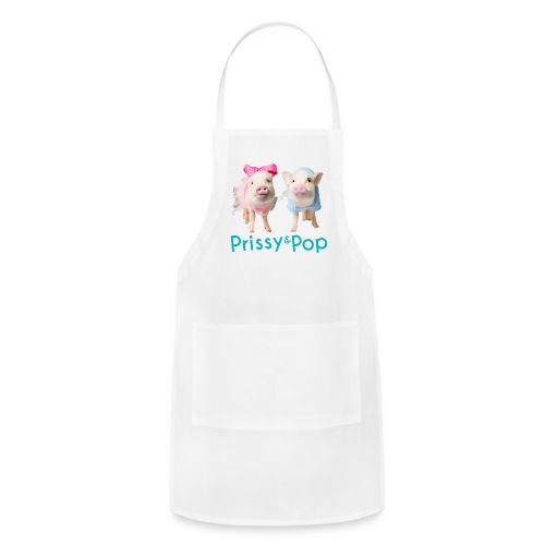 Prissy and Pop Girl's Dress - Adjustable Apron