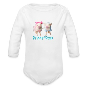 Prissy and Pop Girl's Dress - Long Sleeve Baby Bodysuit