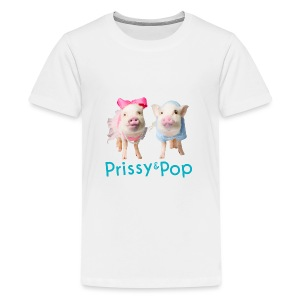 Prissy and Pop Girl's Dress - Kids' Premium T-Shirt