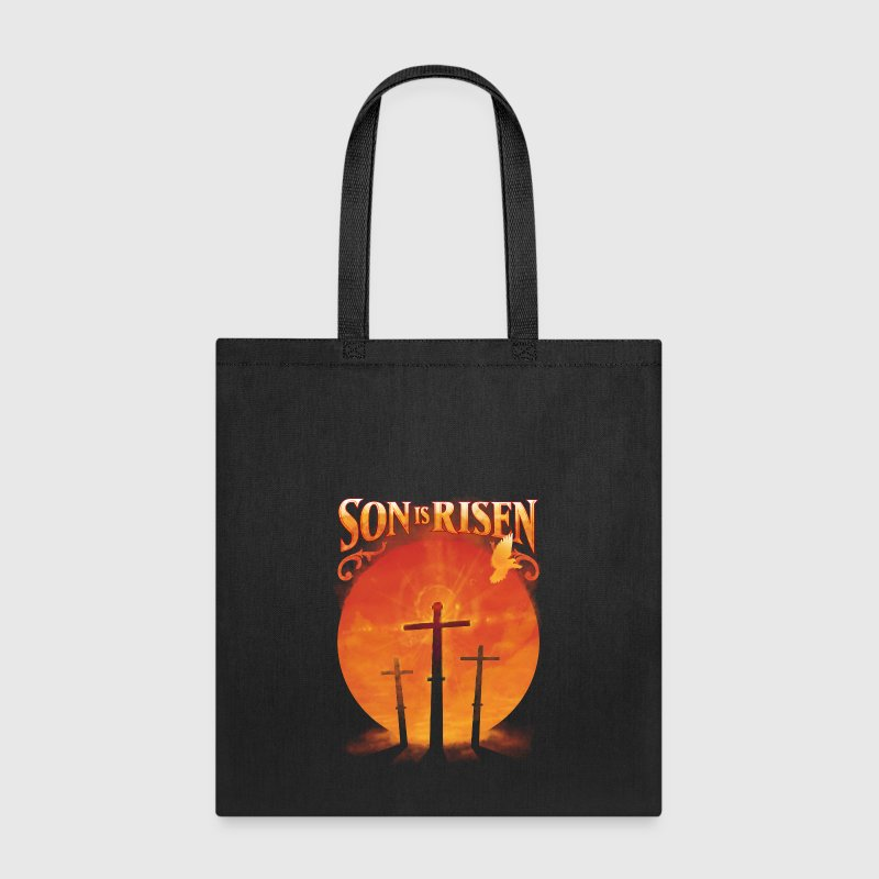 Son is Risen Jesus Christ Christian - Tote Bag