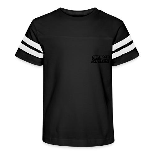 Motocross Addiction BACK - Kid's Vintage Sport T-Shirt