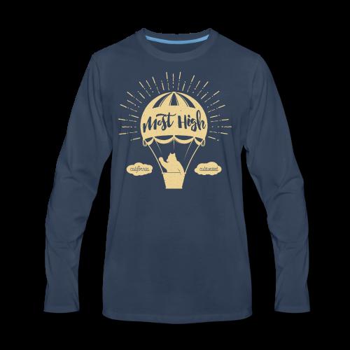 Most High_Cream - Men's Premium Long Sleeve T-Shirt