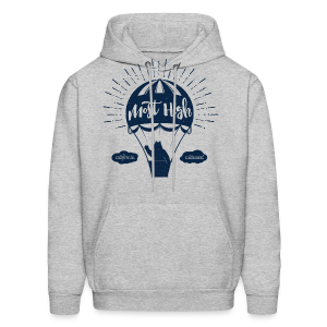 Most High_Blue - Men's Hoodie