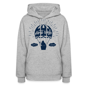 Most High_Blue - Women's Hoodie