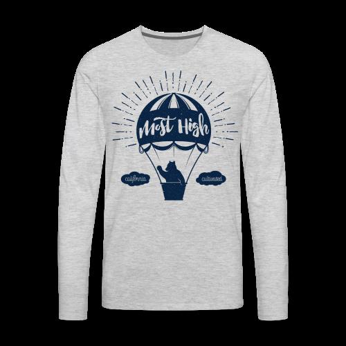 Most High_Blue - Men's Premium Long Sleeve T-Shirt