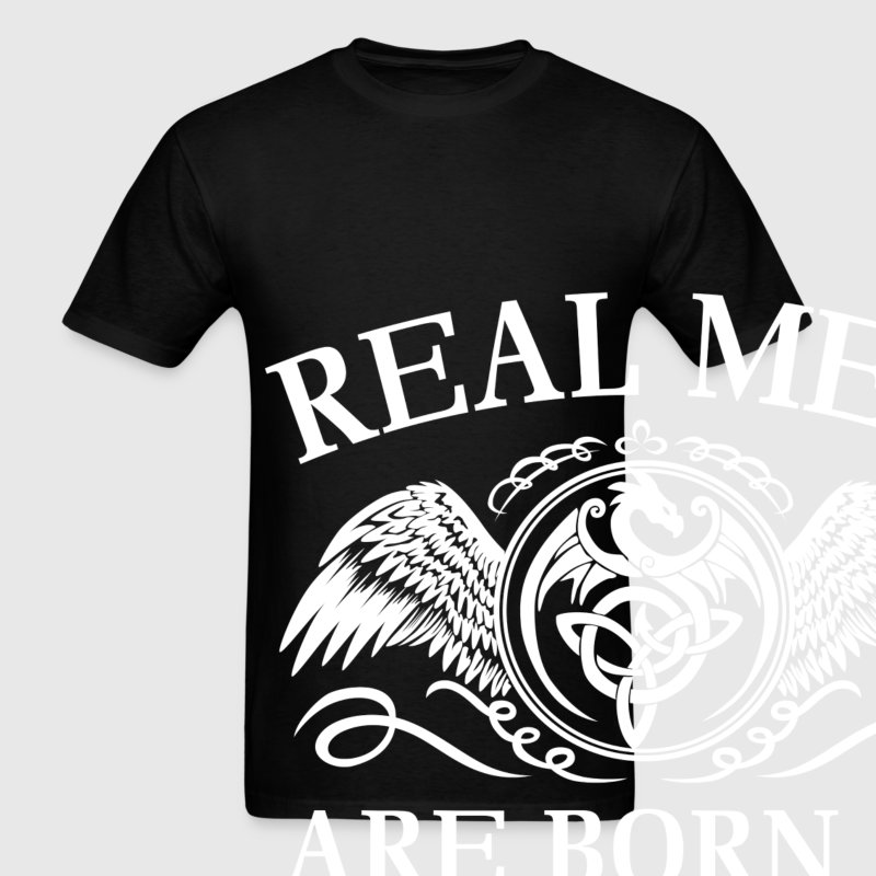 Real men are born in June - Men's T-Shirt