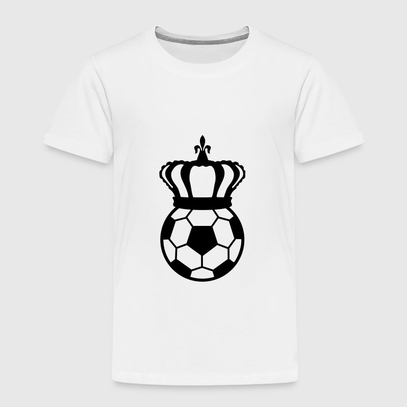 Football, Soccer King  Baby & Toddler Shirts - Toddler Premium T-Shirt