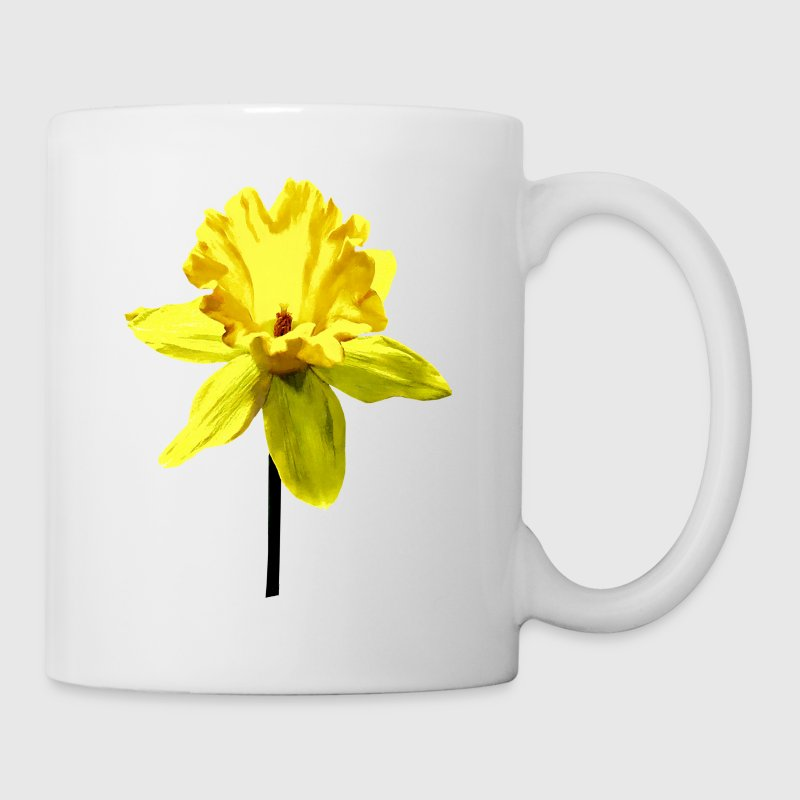 Daffodil Looking Up Mugs & Drinkware - Coffee/Tea Mug