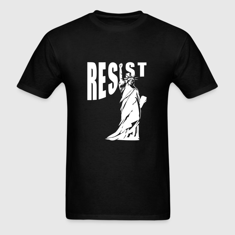 lady liberty resist fist T-Shirts - Men's T-Shirt