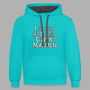 I Survived the Bowling Green Massacre - Contrast Hoodie