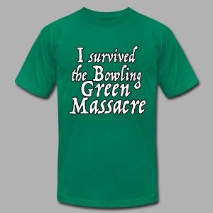 I Survived the Bowling Green Massacre - Men's Fine Jersey T-Shirt