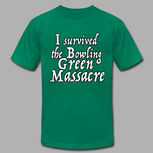 I Survived the Bowling Green Massacre - Men's T-Shirt by American Apparel