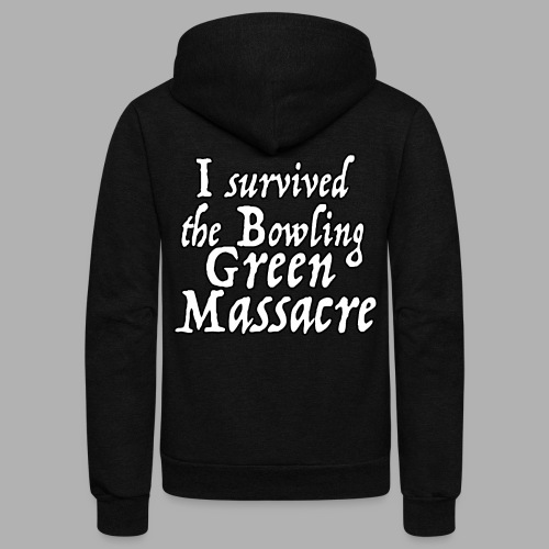 I Survived the Bowling Green Massacre - Unisex Fleece Zip Hoodie