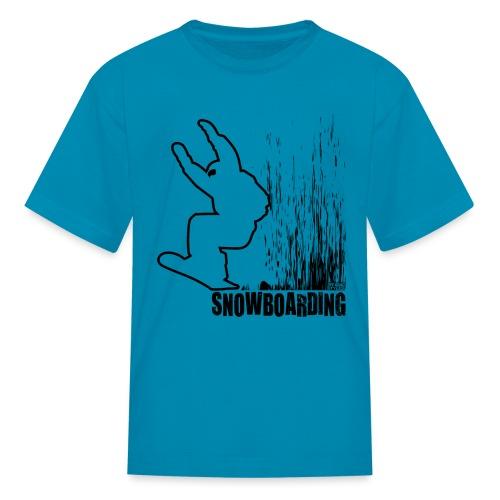 Snowboarder Snowboarding - Kids' T-Shirt