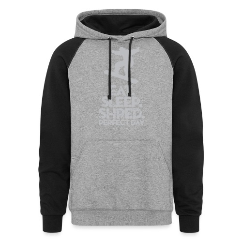 Snowboarder Shred - Colorblock Hoodie