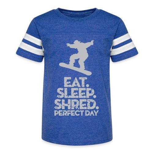 Snowboarder Shred - Kid's Vintage Sport T-Shirt