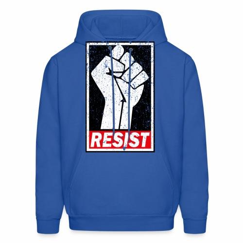 RESIST DISTRESSED SYLE - Men's Hoodie