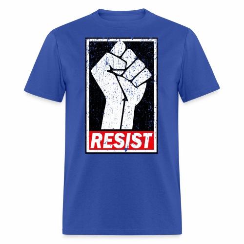 RESIST DISTRESSED SYLE - Men's T-Shirt
